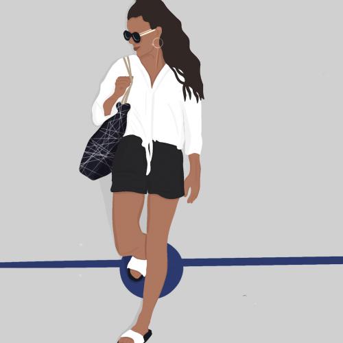 ilustracja minimalistyczna