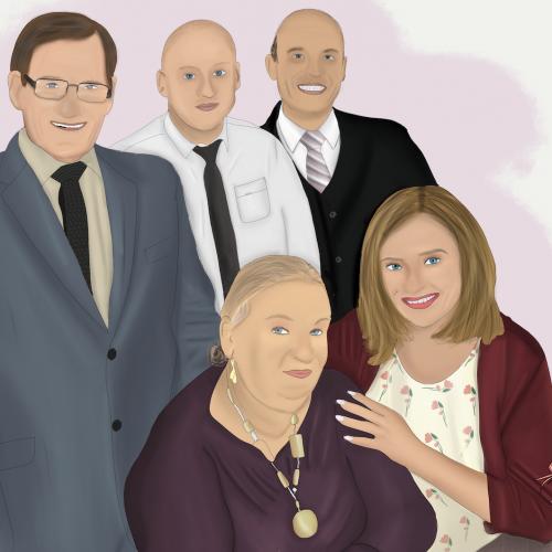 ilustracja rodzinna